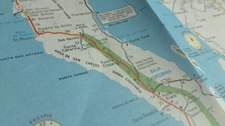 Maps Of Baja California Mexico Allaboutbaja Com